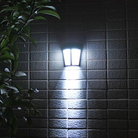 Blanch Outdoor Waterproof Solar Lamp Solar Lamp Wall Mounted