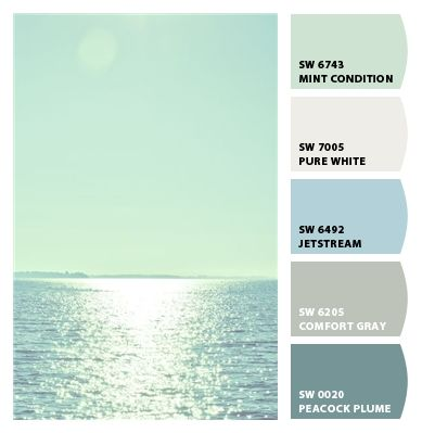 HGTV Home by Sherwin-Williams Coastal Cool collection | coastal decorating  | Pinterest | Hgtv, Coastal and Collection