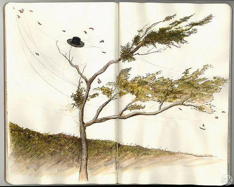 Andrea Kowch: Sketchbook