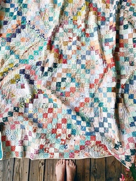 Quilt Reveal Trippy Quilt 2 The Colorful One Scrappy Quilt Patterns Vintage Quilts Pretty Quilt