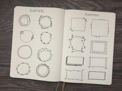 Photo of Verschiedene Dekoelemente, mit denen du dein Bullet Journal verzieren kannst | Punktkariert