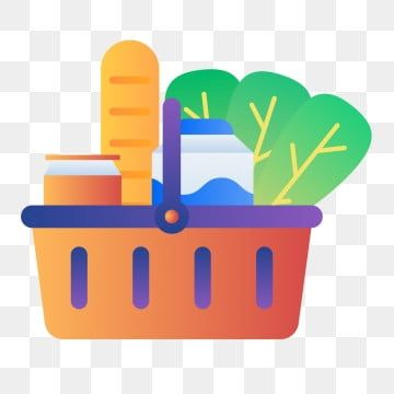 سوبر ماركت للتسوق البقالة كرتون سلة كرتون لون Png والمتجهات للتحميل مجانا Shop Illustration Grocery Store Clip Art