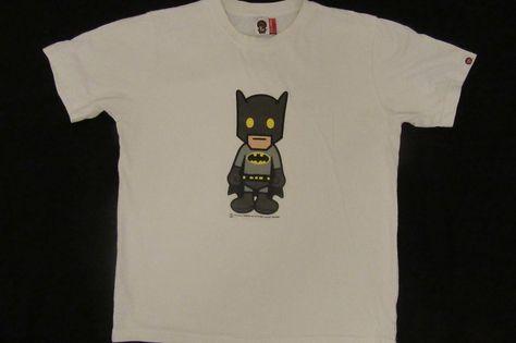 eaff0833 #babymilo #Bape #aBathingApe #Supreme #Rare #Batman t shirt L  #abathingapebabymilo #GraphicTee