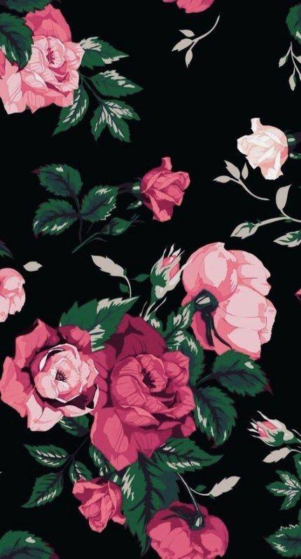 37 Ideas Flowers Wallpaper Backgrounds Pink Flowers Floral Wallpaper Iphone Pink Wallpaper Iphone Pink Flowers Wallpaper