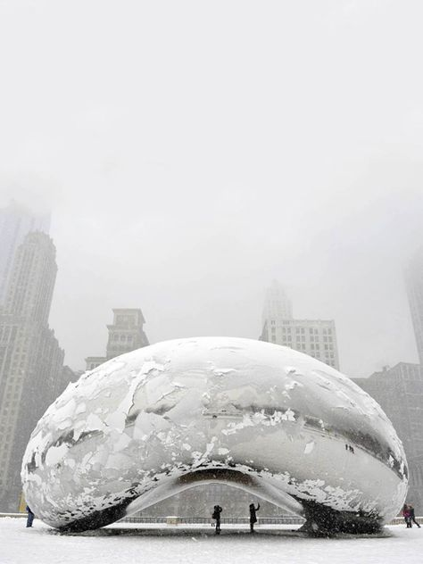 The Bean in Chicago, I know, I know it's sculpture.