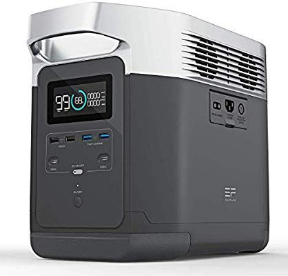 Amazon Com Ef Ecoflow Portable Power Station Efdelta Ups Power Supply 1260wh Battery Pack With 6 1800w 3300w Surge In 2020 Ups Power Ups Power Supply Portable Power