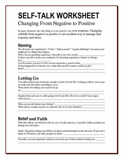 Squashing Your Ants Automatic Negative Thoughts Worksheet For