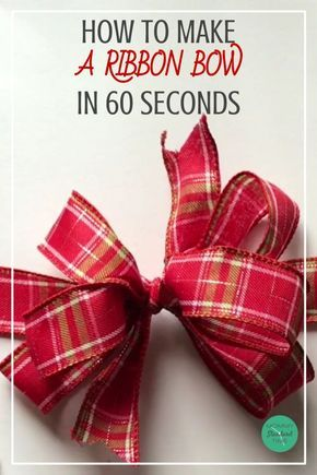 Video tutorial and step-by-step directions help you create a bow from ribbon If you re looking for an alternative to sticky bows and curling ribbon look no further This gift wrapping time saver will help you wrap beautiful gifts in no time Gift Ribbon, Gift Bows, Ribbon Bows, Ribbon Crafts, Ribbons, Ribbon Flower, Ribbon Hair, Bow From Ribbon, Fabric Flowers