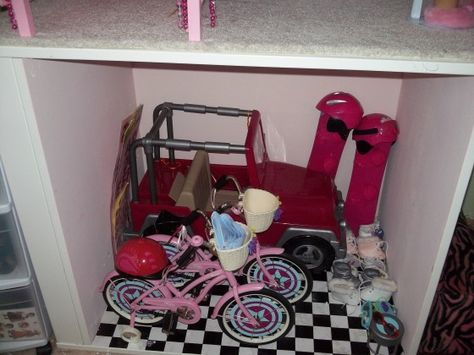 Organize Your American Girl Stuff Day 3 – Dollhouse, Doll Rooms, and Furniture