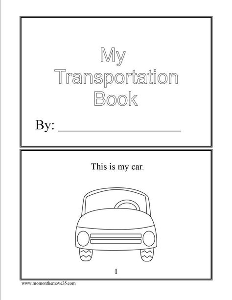 Transportation Activities for Preschoolers - Mom on the Move
