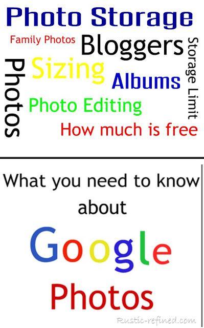 How To Use Google Photos For Blogger Google Photos Blogger Tips Blogger