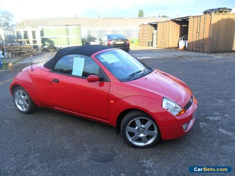 2004 Street Ka Convertible Not Spares Or Salvage Full Mot Ford
