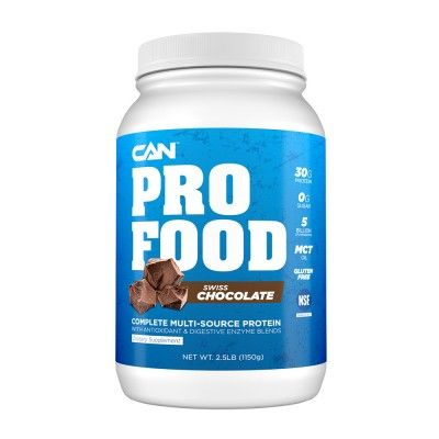 Can Pro Food Clean Protein Powder Multi Source Protein For Digestive Health Sports Nutrition Protein An Food Meal Replacement Drinks Nutrition Facts