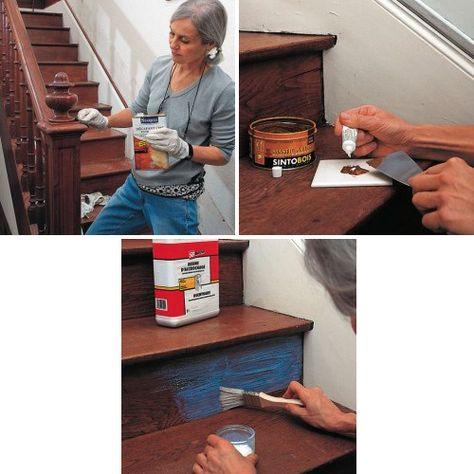 Comment peindre un escalier en bois? Armoires and Future