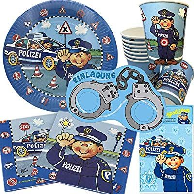 Partytüten Polizei
