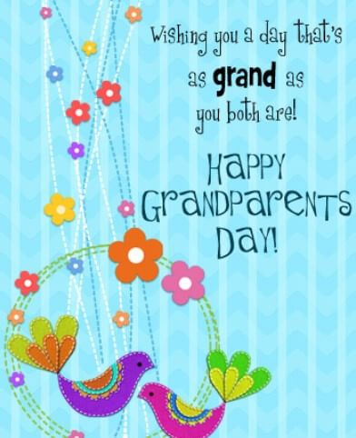 Grandparents Day Greetings Quotes Happy Grandparents Day