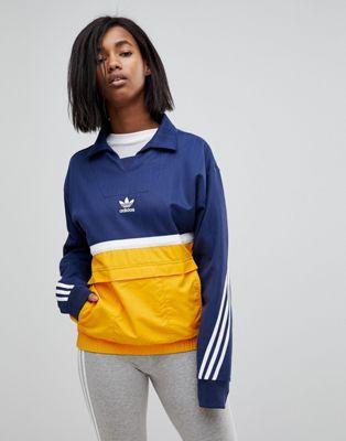 Originals Jacke Nova – Mit Zum Farbblock Adidas Überziehen 2DIWH9E