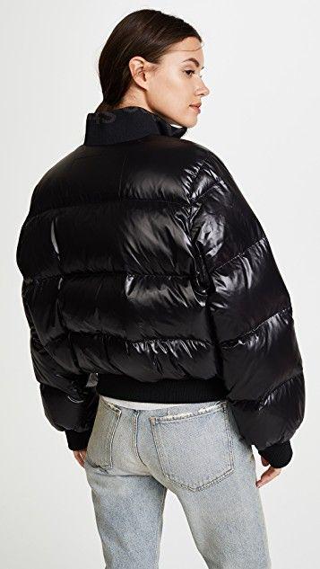 Acne Studios Жакет пуховик Cilla | Куртка, Раздутые куртки и