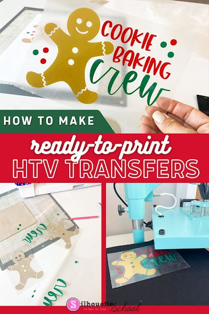 How to Make Ready to Press HTV Transfers