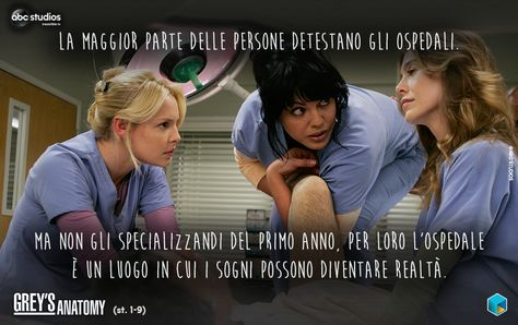 le stagioni di greys anatomy