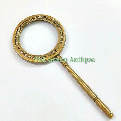 Ebay Sponsored Antique Mini Brass Magnifying Glass Vintage