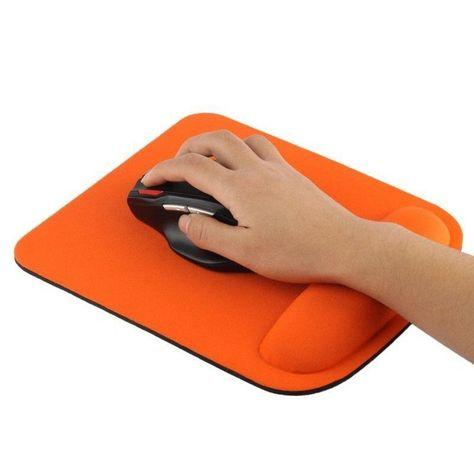 Tapis De Souris Ergonomique Repose Poignet Ultra Fin Orange Taille Tu Tapis De Souris Souris Ergonomique Tapis