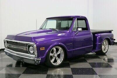 1969 Chevrolet C10 Cst Purple Pickup Trucks Gmc Trucks Chevy