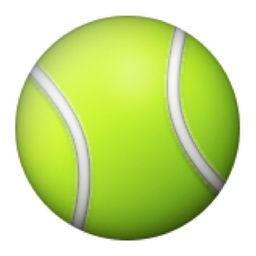 Tennis Racquet And Ball Emoji U 1f3be U E015 Tennis Racquet Tennis Emoji