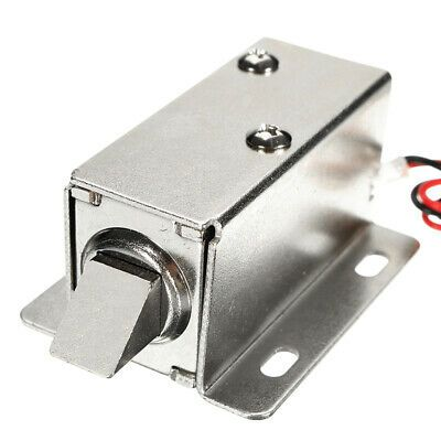Ad Ebay 12v Dc 1 1a Electric Lock Assembly Solenoid Cabinet Drawer Door Lock Cabinet Doors Hardware Industrial Hardware