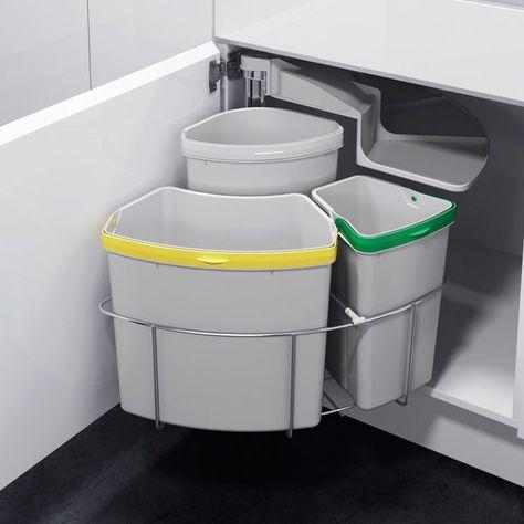 Poubelle Tri Selectif Ikea En 2019 Poubelle Cuisine