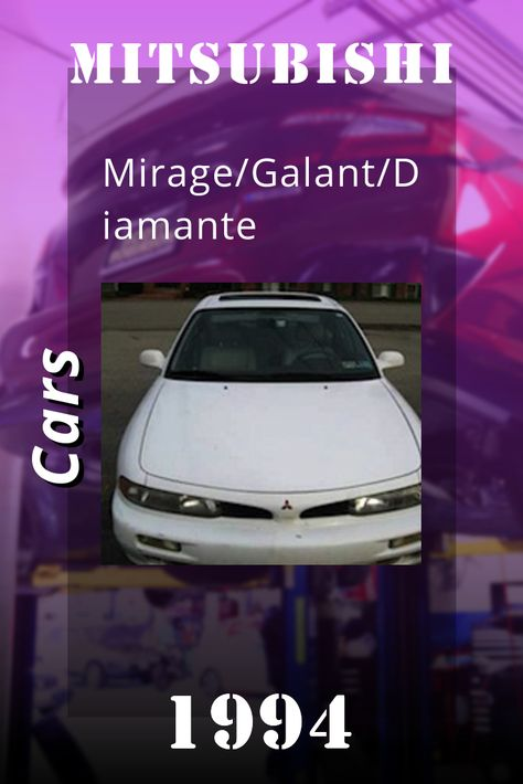 1990 2000 Mitsubishi Mirage Galant Diamante Repair Manual