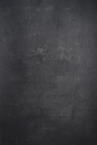 Kate Abstract Texture Dark Gray Color Hand Painted Canvas Backdrop