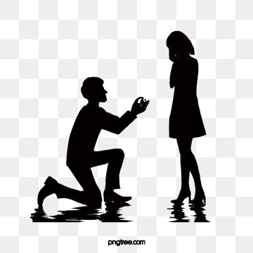 Black Couple Kneeling On One Knee Black Couples Tebowing Png Transparent Clipart Image And Psd File For Free Download Black Couples Couple Clipart Clipart Images