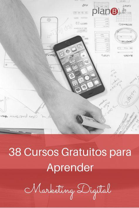 35 Cursos Gratuitos para aprender marketing digital