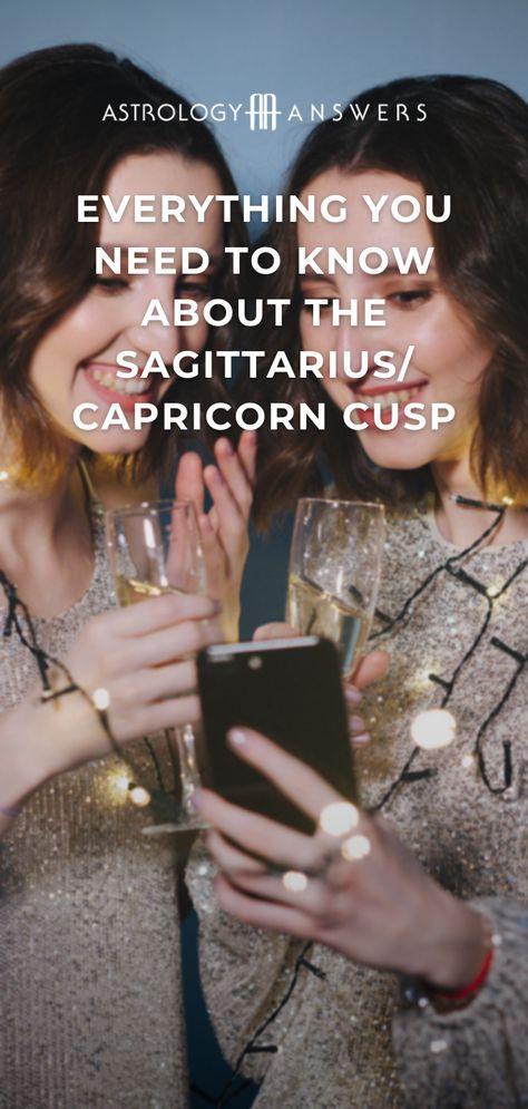 Are you on the Sagittarius-Capricorn cusp? #sagittariuscapricorncusp #sagittarius #capricorn #cusp #astrology #astrologycusp