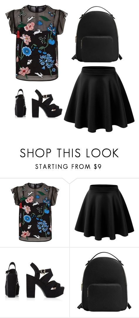 """""""Без названия #132"""" by diankounicorn ❤ liked on Polyvore featuring Markus Lupfer and MANGO"""