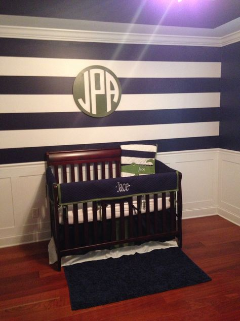 Twin boys nursery, Pottery Barn Alligator quilt