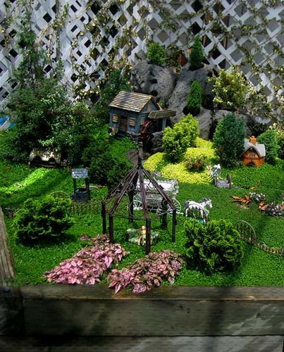 Fairy Garden Village With Images
