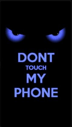 Don T Touch My Phone Black Eyes Dont Touch My Phone Wallpapers Dont Touch Me Best Iphone Wallpapers