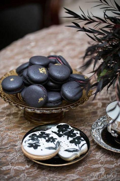 A Bordeaux-Hued, Gothic-Inspired Shoot- Wedding Inspiration - WedLuxe Magazine