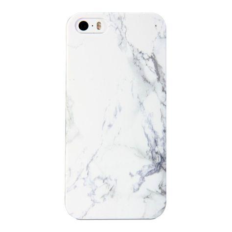 iPhone 5S Coque, GMYLE Cover Case Print Crystal pour iPhone 5 / iPhone 5S - Blanc Dessin de Marbre Slim Coque Housse Etui: Amazon.fr: High-tech