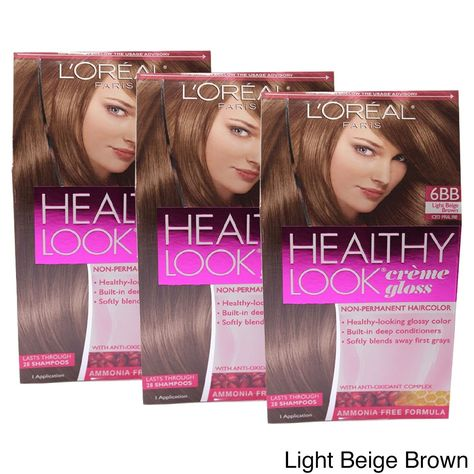 L'Oreal Paris Healthy Look Creme Gloss Color