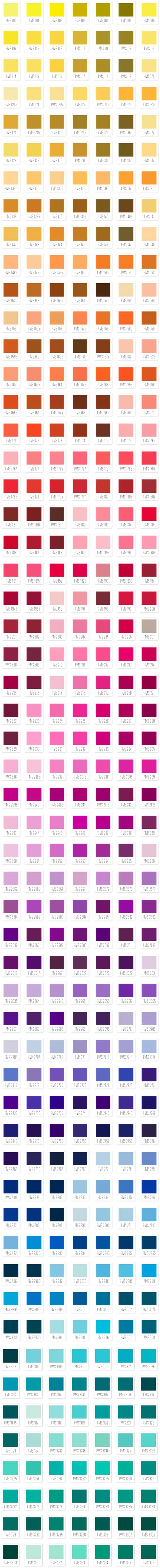 pantone ink matches for letterpress printing graphics pinterest pantone pantone color and pantone color chart - Pantone Color Swatch Book