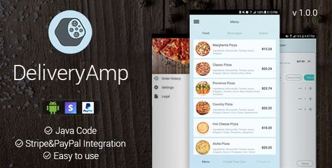 Food Delivery - Android App | Android apps, App, Create yourself