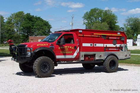 Ford Fire Rescue Brush truck