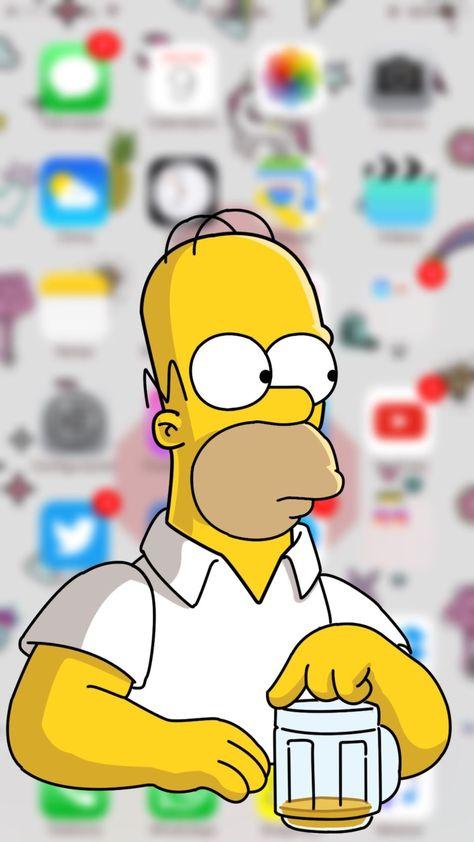 Поздравления месяцами, гомер симпсон картинки на телефон