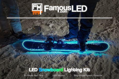 LED Snowboard Kit
