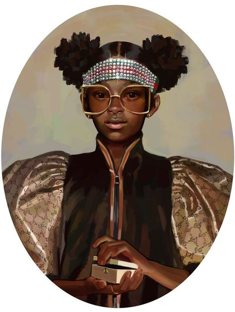 """fuckrashida: """"Pandora the first woman and the Greek Gods Hermaphroditus, Athena, Artemis, Hera, and Aries illustrated by Ignasi Monreal for Gucci's 2018 Cruise collection """""""