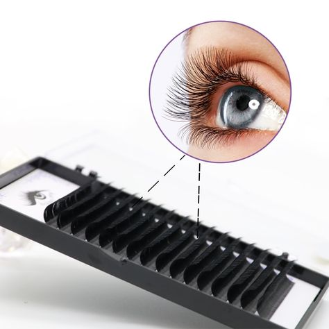 6d01b6b98ce Cheap False Eyelashes, Buy Directly from China Suppliers:0.03mm C  ,16Rows,Faux mink individual eyelash extension, volume lashes extension for  professionals ...