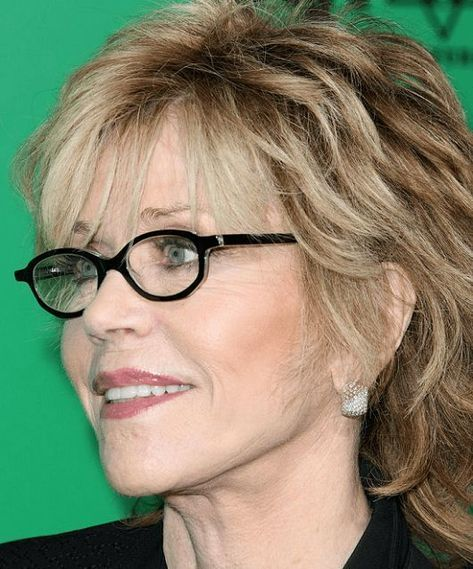 40 Edle Frisuren Für 50 Bis 60 Jährige Frauen Mit Brille